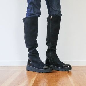 Shoes - NEW Knee High Black Boots